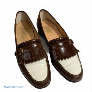 Salvatore Ferragamo Kiltie buckle loafers size 9D